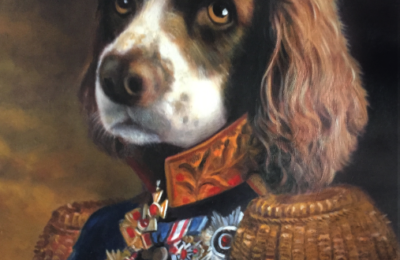 HONOR THE DUKE OF YOUR HOUSE WITH A HANDMADE ROYAL PET PORTRAIT